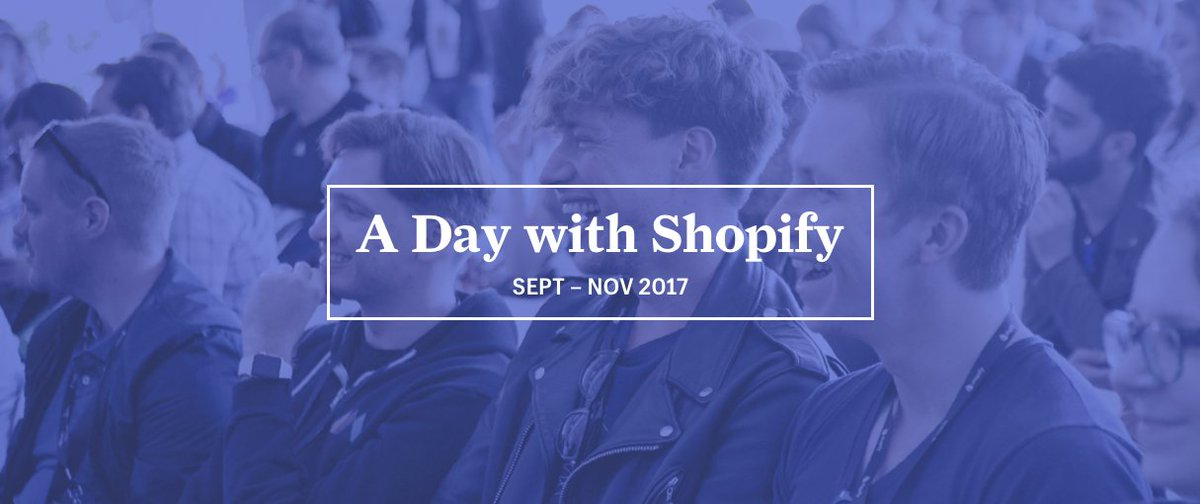 A Day With Shopify