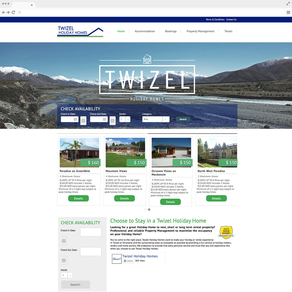 Twizel Holiday Home