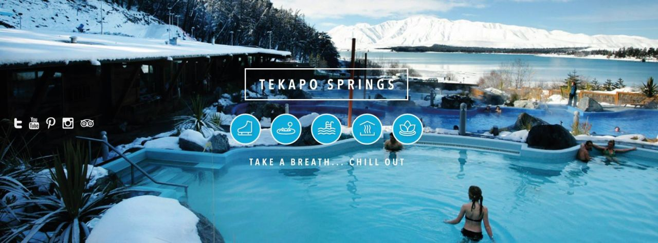 New websites for Tekapo Springs