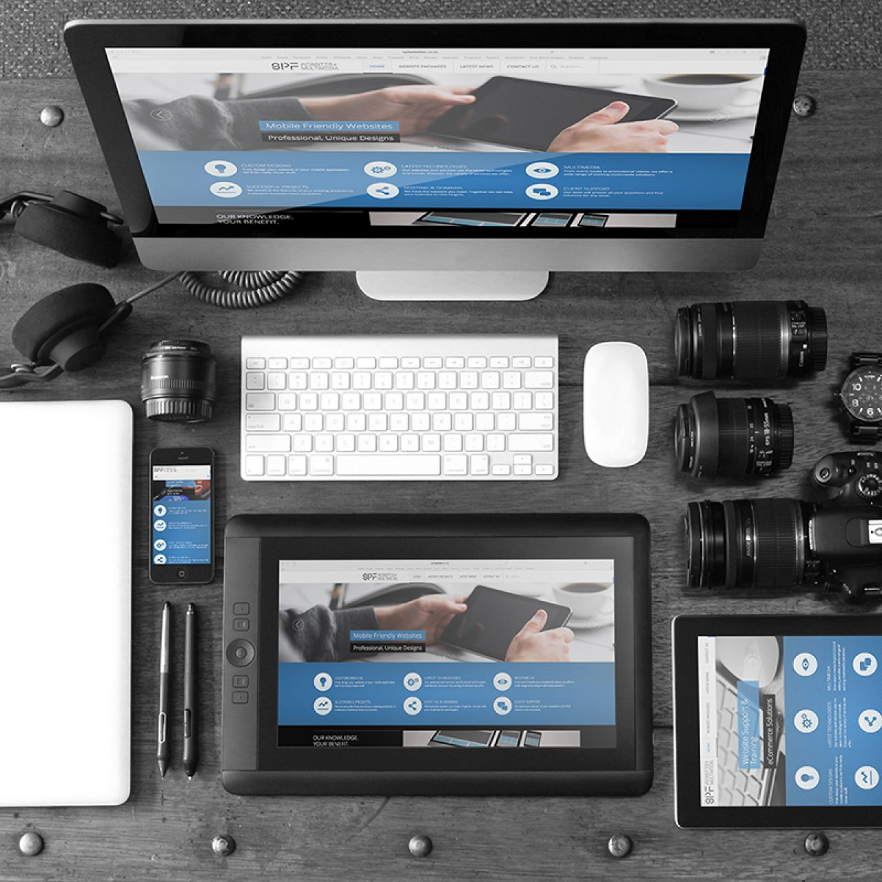 Use Knolling to Organize Product Photography